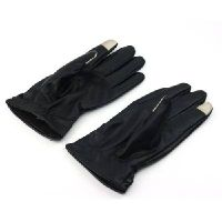 2013 Men woman Luxurious Leather Electricity Melted Touch Gloves for All Capacitive Touch Devices thumbnail image
