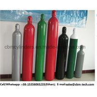 6 M3 Oxygen Cylinders with Steel Valve Guards