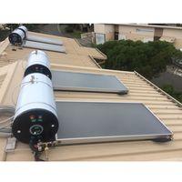 Environmental Solar Energy Flat Plate Winter Solar Hot Water Heaters System thumbnail image