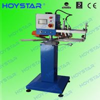 new single color screen neck label printing machine