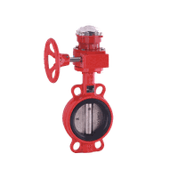 Wafer Concentric Butterfly Valve with Post Indicator thumbnail image