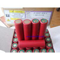 Li ion 18650 battery cell Sanyo UR18650F 2400mAh battery thumbnail image