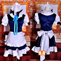 Anime Cosplay Costume Koumakan Izayoi Sakuya Cosplay Custume