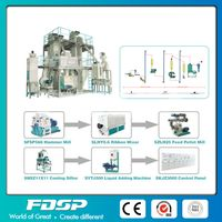 Ring Die Duck Feed Pellet Production Line