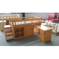 Kids' spruce dormitory beds