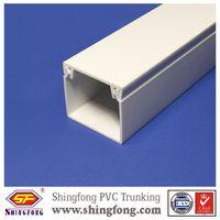 ISO9001:2015 Self-adhesive mini size square pvc cable trunking 25x25 thumbnail image