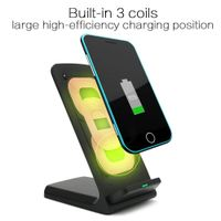 3 coils fast wireless charger