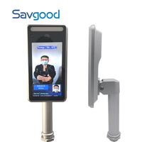 2Megapixel Face Recognition and Human Body Temperature Measurement Access Control Camera