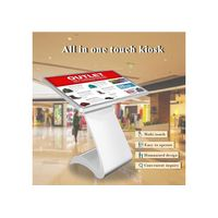 """55"""" floor standing Samsung LCD touch screen advertising display kiosk 10 points touch panel interact thumbnail image"""