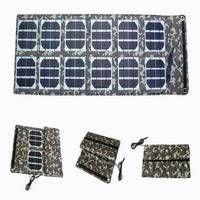 36W Portable Foldable Solar Panel Charger for Laptop, Mobile Phone, Automotive Battery thumbnail image