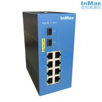 10 ports gigabit 7+3G Managed Industrial Ethernet Switch i610A