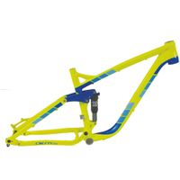 Alloy suspension bicycle frame for 26inch wheels