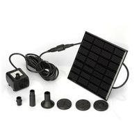 Energy Saving Solar Powered Water Pump For Mini Water Fountain thumbnail image