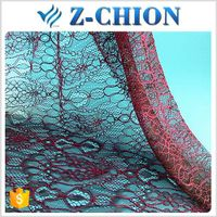 Top design shaoxing textile nylon cotton shoe swiss voile lace fabric
