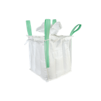 Large capacity virgin flat bottom open mouth PP woven jumbo bag FIBC bag thumbnail image