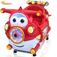 2018 wholesale coin operated kiddie ride kid games machines