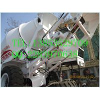 4 cubic meter self-loading concrete mixer