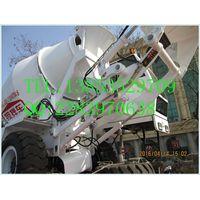 4 cubic meter self-loading concrete mixer