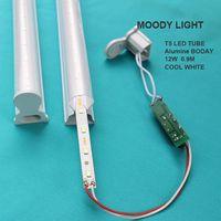 LED Tube T5 Light 220v 240v 30cm 6w 60cm 10w LED Fluorescent Tube T8 Wall Lamps Cold White T5 Bulb L thumbnail image