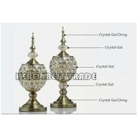Glass Table Ornaments for European style