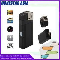 High quality lighter camera full HD 1080p mini camera with real lighter function