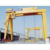 MG Model Double Girder Rail Electric Gantry Cranes