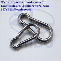 Carabiner Hook of stainless steel snap hook