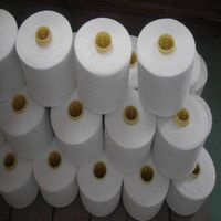 Raw white TFO twited spun yarn virgin sewing thread