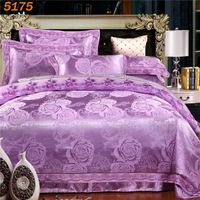 Jacquard Beige Colors Bedding Sets