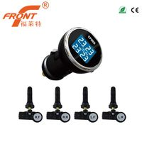 TPI06 Tire Pressure Monitoring System Cigarette Lighter Power TPMS