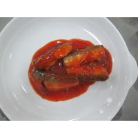 canned sardine in tomato sauce(155g/93g),canned fish manufatcurer, cylinder can, halal, haccp certif
