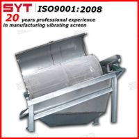 Waste recycling tommel screen