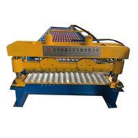 Corrugated galvanized zinc roof sheets/ corrugated making machine