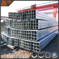 40x40 galvanized square steel pipe