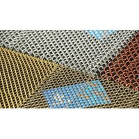 stainless steel fireplace mesh curtain