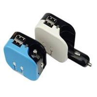 5V1A Home/Car 2in1 USB Car Charger
