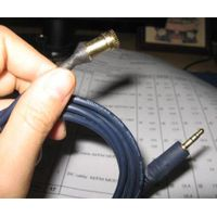 12Feet 3.5mm M/F Stereo Headphone Audio Extension Cord Cable, Audio cable mount