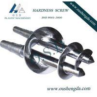 rubber extruder screw & barrel