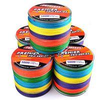 500m 4x Braided Fishing Line multicolor Braid Super Strong PE Line thumbnail image