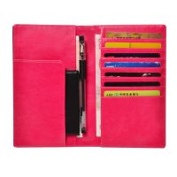 Fashion leather card slots universal wallet for Passport wallets