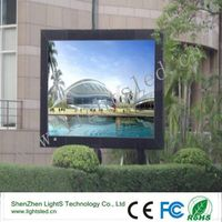 P10 Waterproof Advertising LED Display Screens IP65
