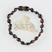 Baltic Amber Teething Jewelry Bracelet for Baby