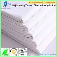 extra width plain white cotton fabric for bed sheet