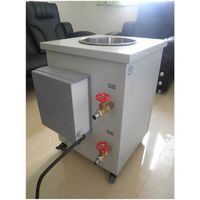 high temperature rhermostatic circulating oil/water bath