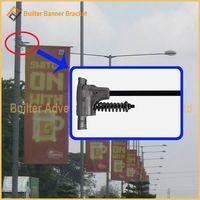 Metal Street Light Pole Advertising Banner Mechanism thumbnail image