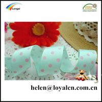 customized wholesale packaging ribbon with dots thumbnail image