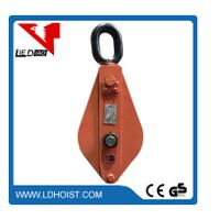 wire rope pulley block Snatch lifting pulley weight construction pulley
