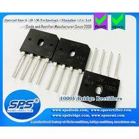 SPS 4A 1000V Glass Passivated Single Phase Bridge Rectifier Through Hole GBU410