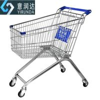 convenient 100L European style grocery trolley