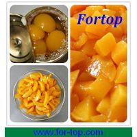 Fresh Canned Yellow Peach In Halves/slices/dices thumbnail image